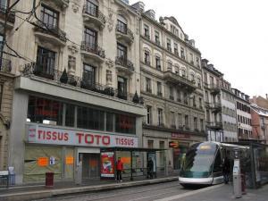 Трамвай в Страсбурге