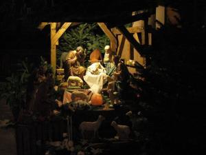 Церковь Св. Петра Старого в Страсбурге, рождественский вертеп