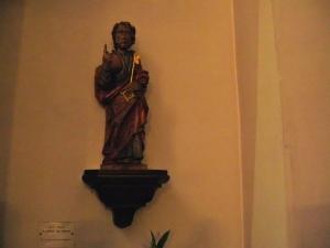 Церковь Св. Петра Старого в Страсбурге, скульптура св. Петра