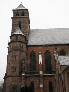 Церковь Св. Петра Старого в Страсбурге, вид католической части церкви