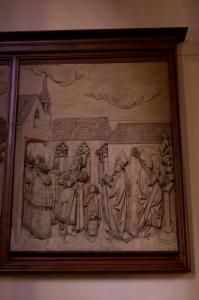 Церковь Св. Петра Старого в Страсбурге, барельеф, посвященный жизни св. Петра