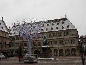 Площадь Гутенберга в Страсбурге