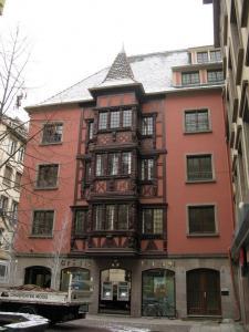 Алебардная улица в Страсбурге