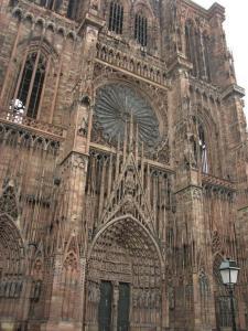 Кафедральный собор Страсбурга, главный фасад