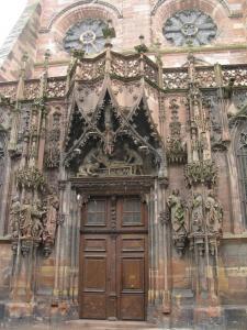 Кафедральный собор Страсбурга, портал северного фасада