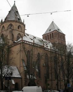 Церковь Св. Фомы (Томаса) в Страсбурге