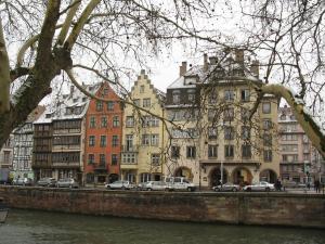 Набережная Св. Николая в Страсбурге