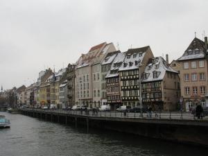 Набережная Лодочников в Страсбурге