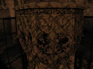 Кафедральный собор Страсбурга, интерьер, купель