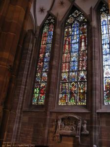 Кафедральный собор Страсбурга, витражи