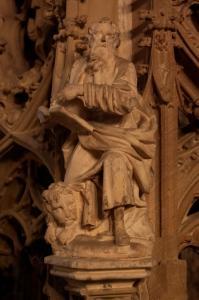 Кафедральный собор Страсбурга, интерьер, кафедра