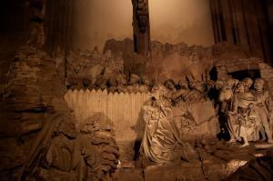 Кафедральный собор Страсбурга, интерьер, Гефсиманский сад