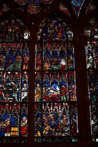 Кафедральный собор Страсбурга, витраж Девы Марии