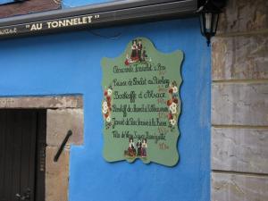 Вывеска эльзасского ресторанчика, Страсбург