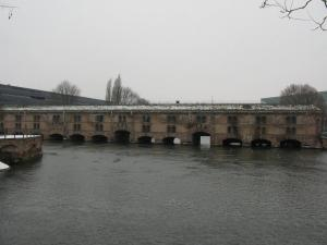 Дамба Вобана в Страсбурге