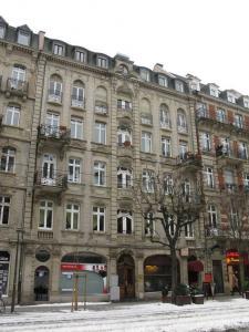 Здание на Avenue de la Marseillaise в Страсбурге