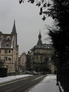 Дом с башенкой в Страсбурге