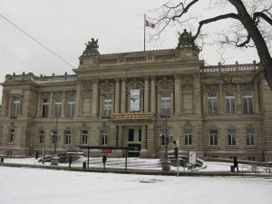 Национальный театр, площадь Республики, Страсбург