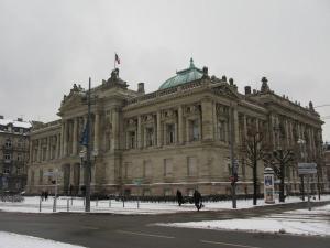 Университетская библиотека, площадь Республики, Страсбург