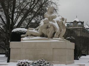 Монумент павшим, площадь Республики, Страсбург