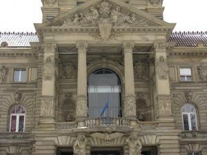Рейнский (императорский) дворец, площадь Республики, Страсбург