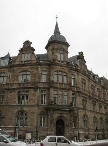 Здание на Avenue des Vosges, Страсбург