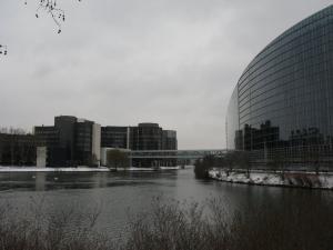 Здания Европейского парламента, Страсбург