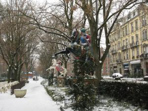 Площадь Раппа, Кольмар, Франция