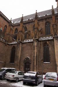 Церковь (собор) Св. Мартина, Кольмар, Франция