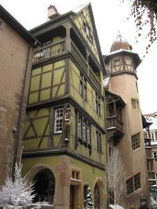 Дом «У воротничка» (zum Kragen), Кольмар, Франция