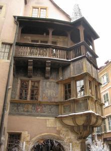 Дом Пфистера, Кольмар, Франция