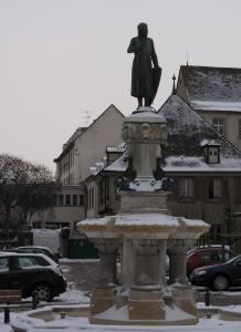 Площадь Шести Черных Гор, Кольмар, Франция