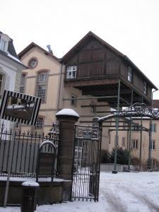 Здание старой пивоварни в Кольмаре, Франция