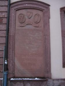 Мемориальная доска, Кольмар, Франция