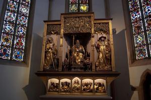 Изенгеймский алтарь, скульптурная композиция