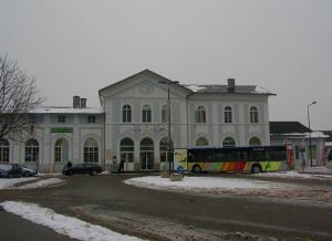 ЧЖелезнодорожный вокзал, Селеста, Эльзас, Франция