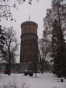 Водонапорная башня, Кольмар, Франция