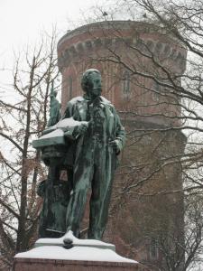 Памятник скульптору Бартольди, Кольмар, Франция