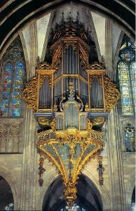 Кафедральный собор Страсбурга, интерьер, орган