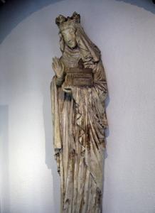 Статуя Агнессы фон Гергхейм работы Бартольди, Кольмар, Франция