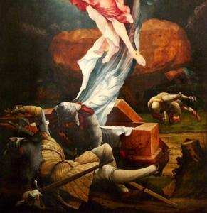 Изенгеймский алтарь, Воскресение