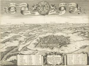 Старая карта, Кольмар, Франция