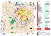 Дом «Карта города Кольмар, Франция