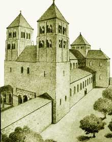 Кафедральный собор Страсбурга в XI веке