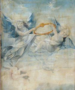 Изенгеймский алтарь, ангелы