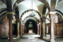 Кафедральный собор Страсбурга, крипта