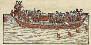 Титульный лист поэмы «Счастливый цюрихский корабль»