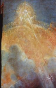 Изенгеймский алтарь, Бог Отец