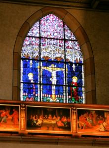 Интерьер церкви Св. Матфея, Кольмар, Франция