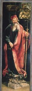 Изенгеймский алтарь, св. Антоний